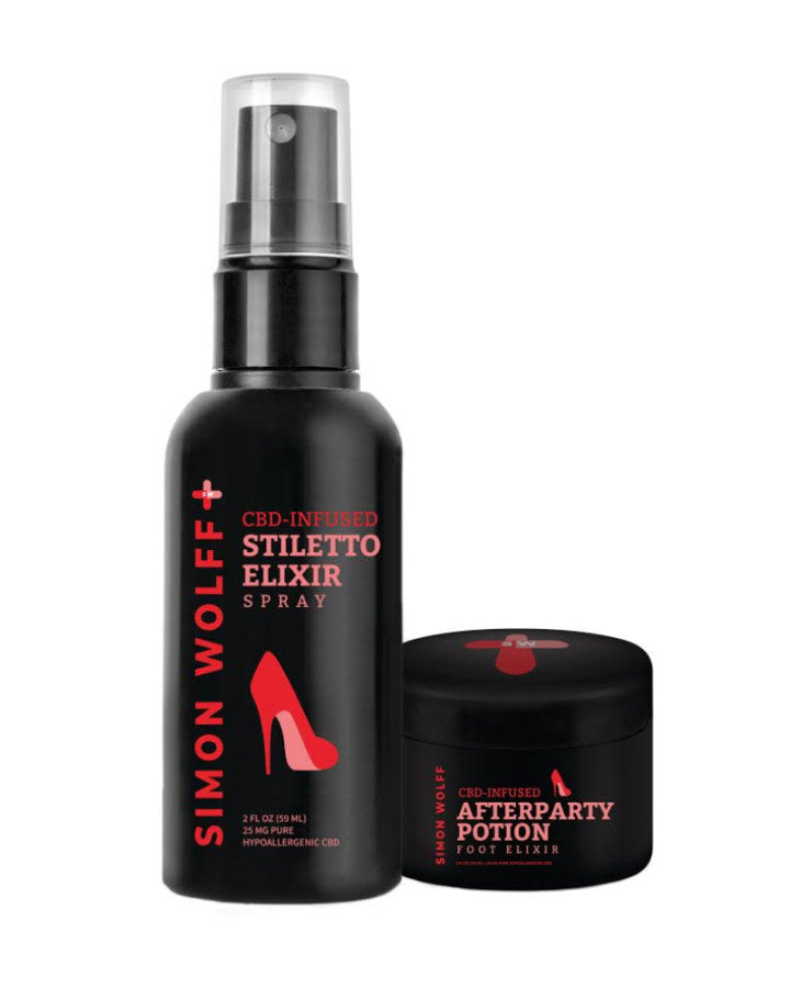 Simon Wolff CBD Stiletto Elixir and After Party Potion