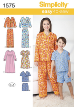 Simplicity Children's - 1575 Sleepwear