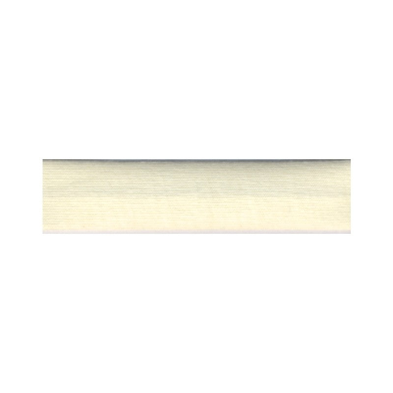 Cotton Stretch Jersey Binding 18mm - Cream