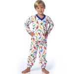 Butterick Children 6126 - Boy's T-Shirt & Pants Set