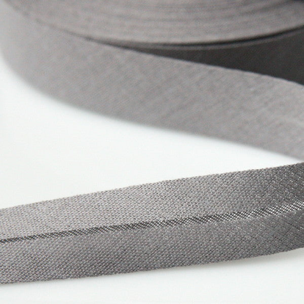Prym Cotton Bias Binding 20mm - 202 Grey