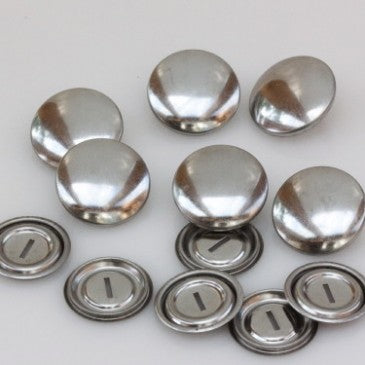 Self Cover Buttons Metal - 19mm
