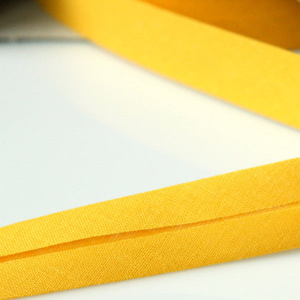Prym Cotton Bias Binding 20mm - 232 Yellow