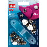 Prym 390117 - Jersey Press Fasteners - Pearl 12mm