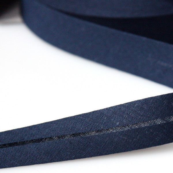 Prym Cotton Bias Binding 20mm - 257 Navy
