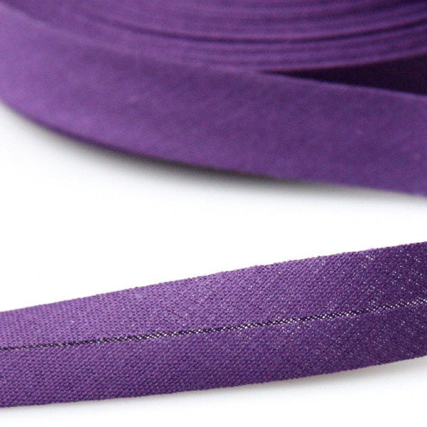 Prym Cotton Bias Binding 20mm - 260 Purple