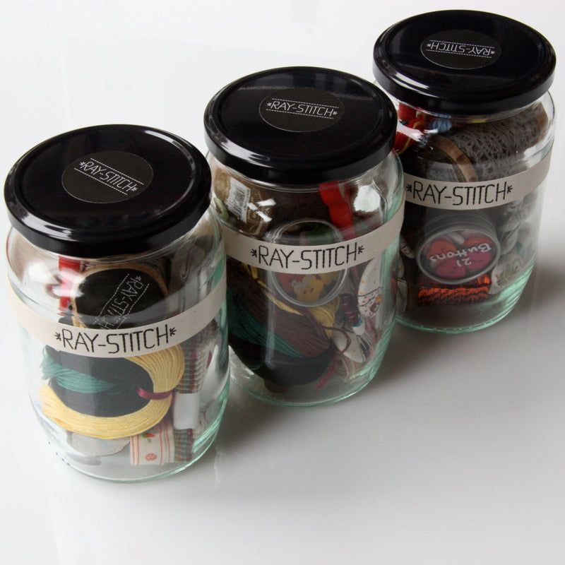 Ray Stitch Goodie Jar - Adult