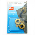 Prym 416671 - Cord Stops - Antique Brass