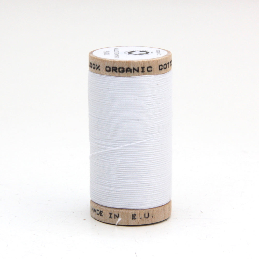 Organic Thread - 100m - 4800 - White