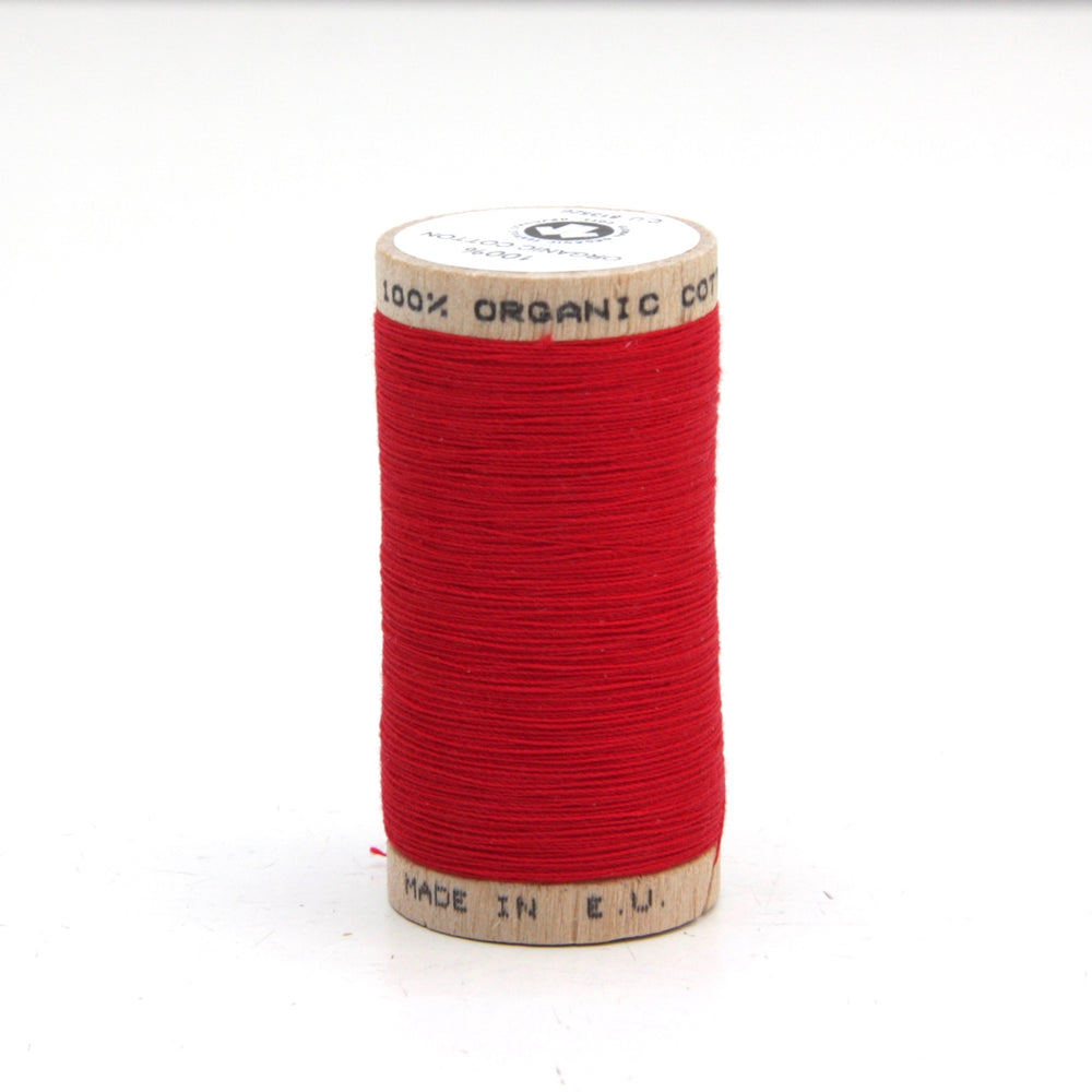 Organic Thread - 275m - 4805 - Red