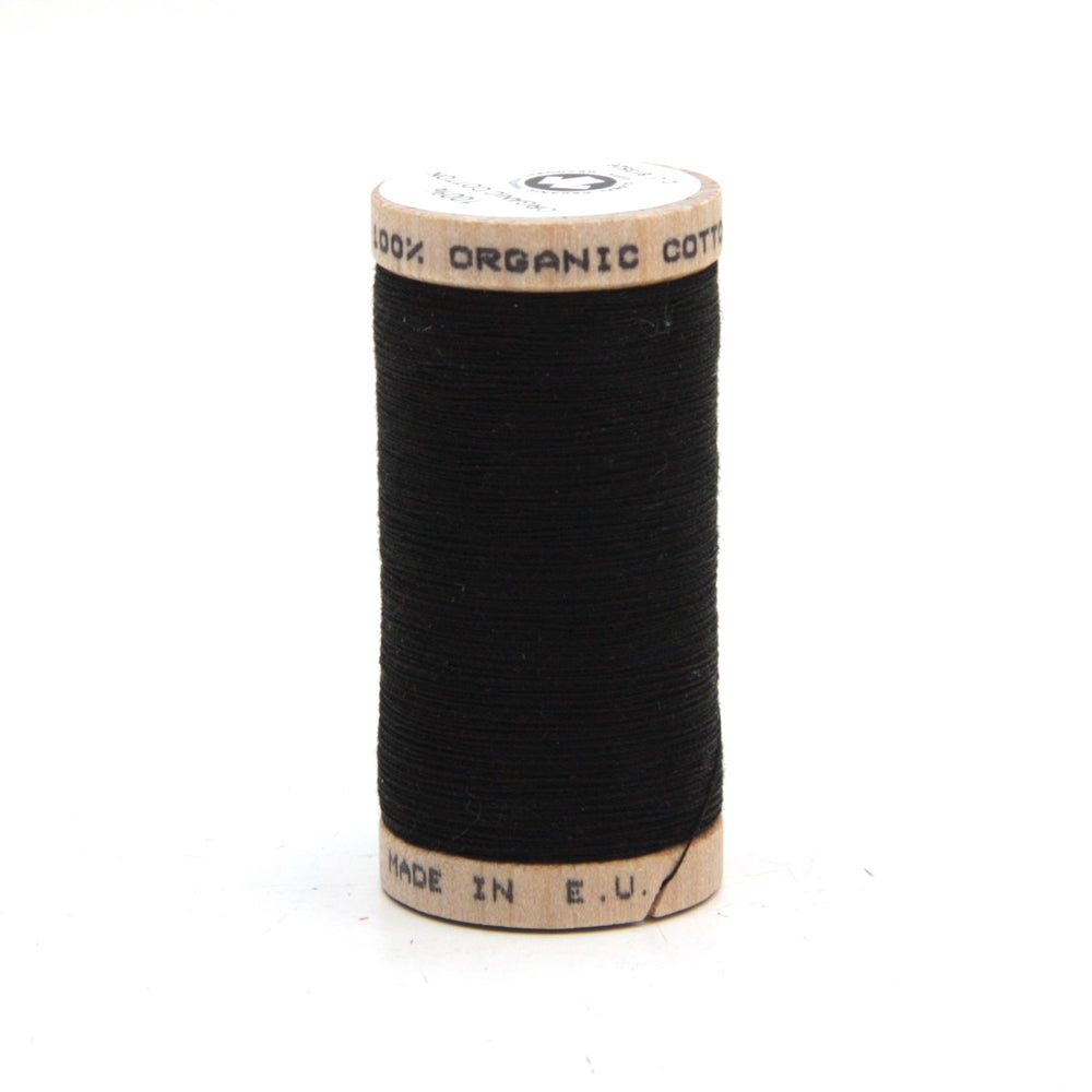 Organic Thread - 275m - 4808 - Black