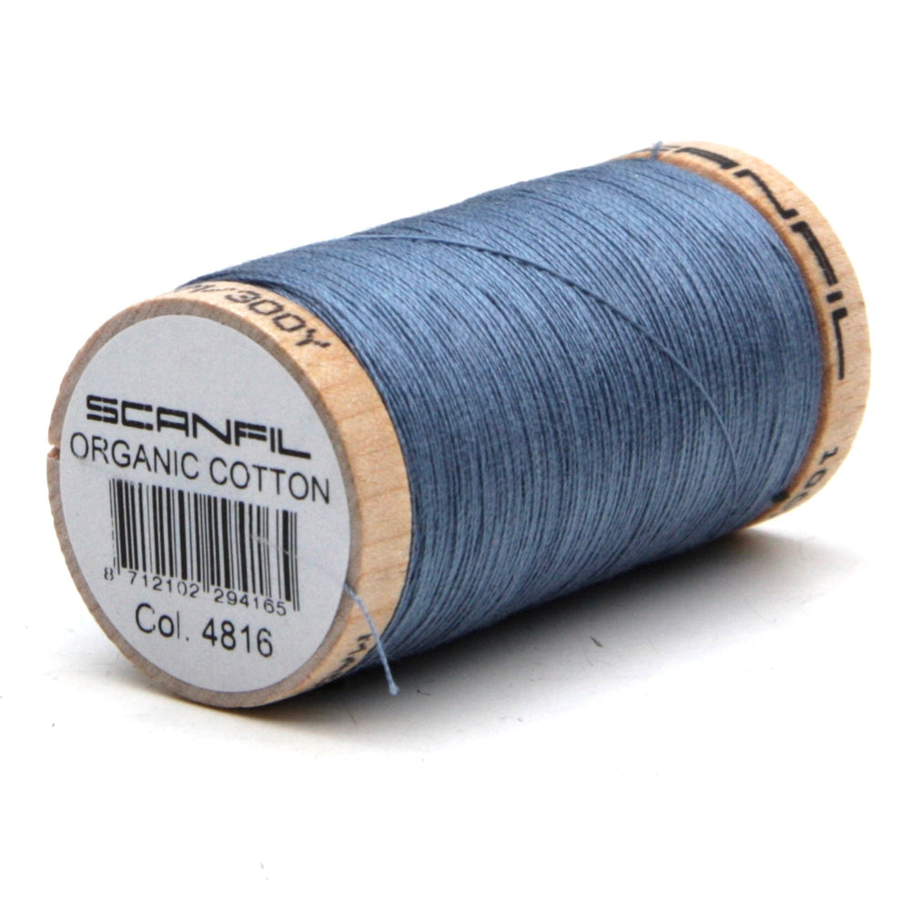 Organic Thread - 275m - 4816 - Denim