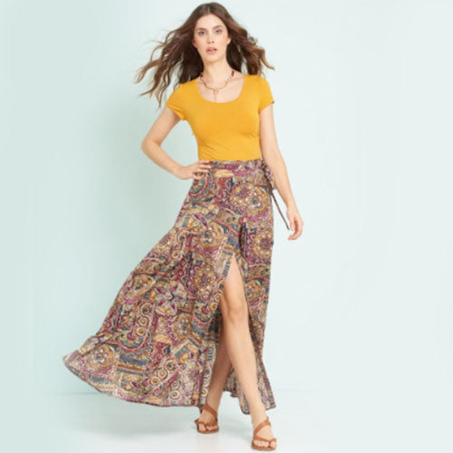 New Look Women's 6456 - Easy Wrap Sarong Skirts