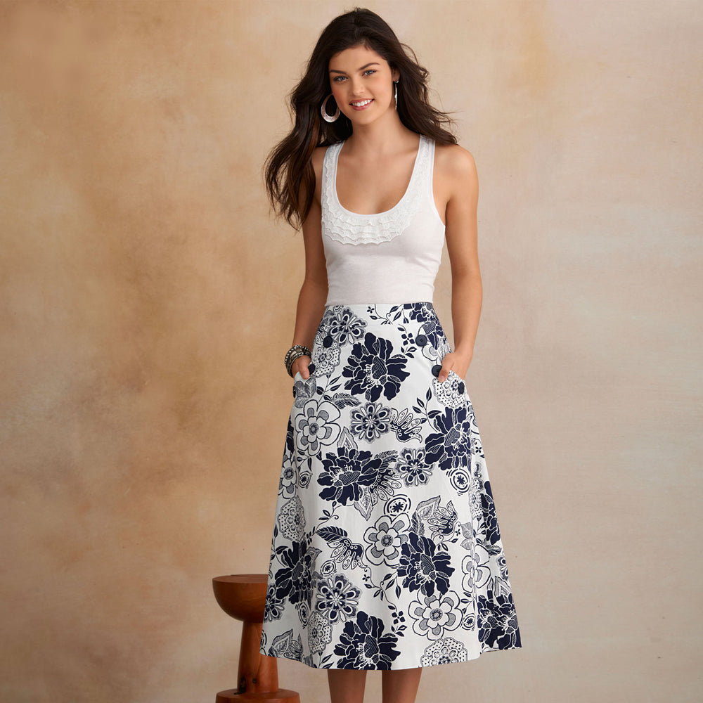 New Look Women's 6106 - A-Line Skirts