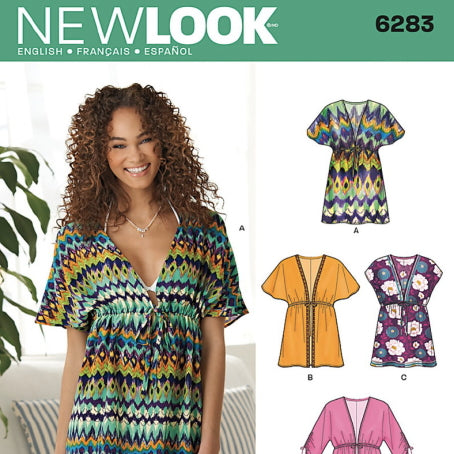 New Look Women's 6283 - Beach Tunic & Cover-Up