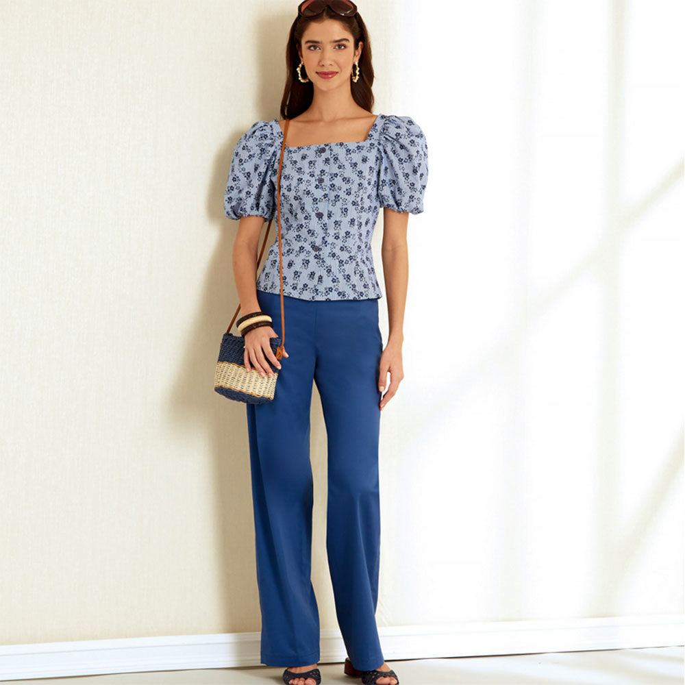 New Look 6678 - Top and Trousers