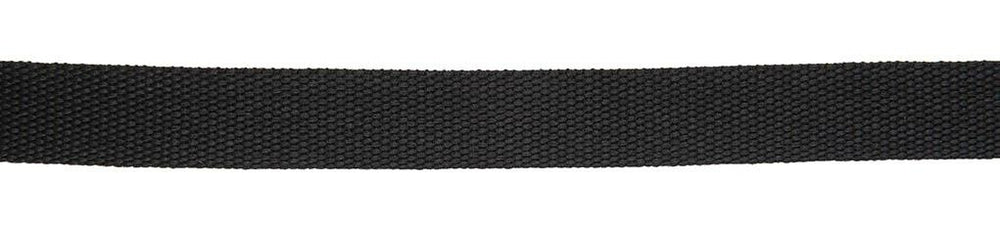 Polyester Webbing 25mm - Black