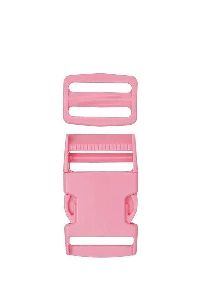 Plastic Side Release Buckle - Pink