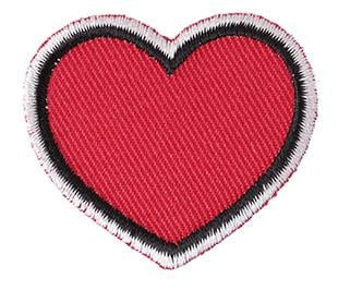 Iron-On Patch - Heart