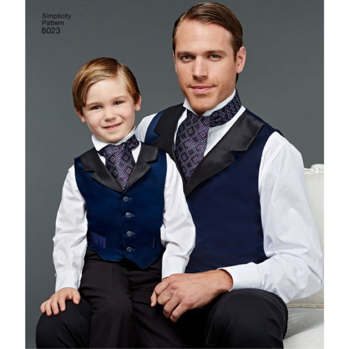 Simplicity Men's & Boy's 8023 - Wedding Accessories
