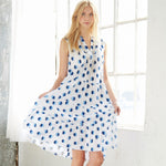 McCall's 8090 - Tiered Flounce Dress #MarinaMcCalls