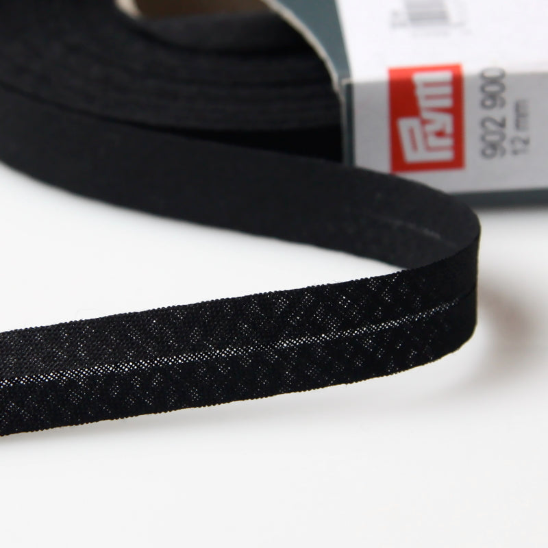 Prym Cotton Bias Binding 12mm - 900 Black