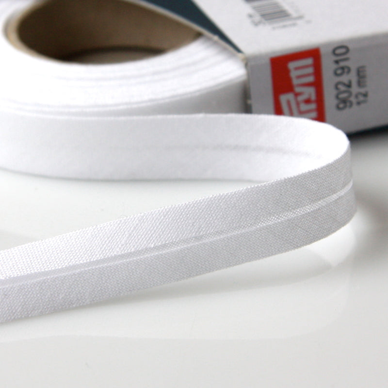 Prym Cotton Bias Binding 12mm - 910 White