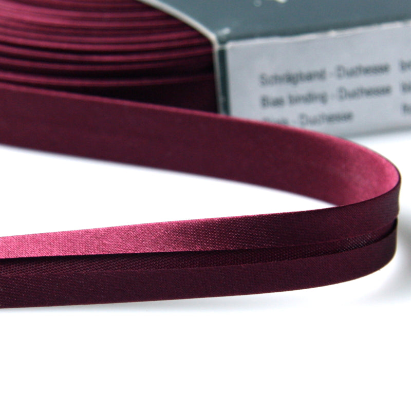 Prym Satin Bias Binding 20mm - 672 Blackberry