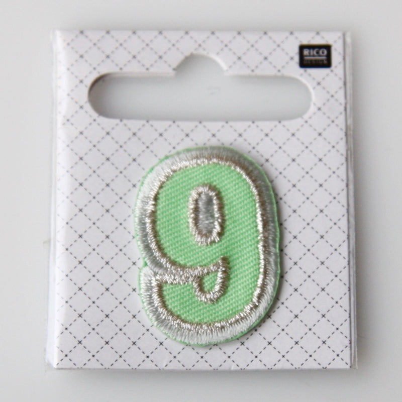 Iron-On Number Patch - 9