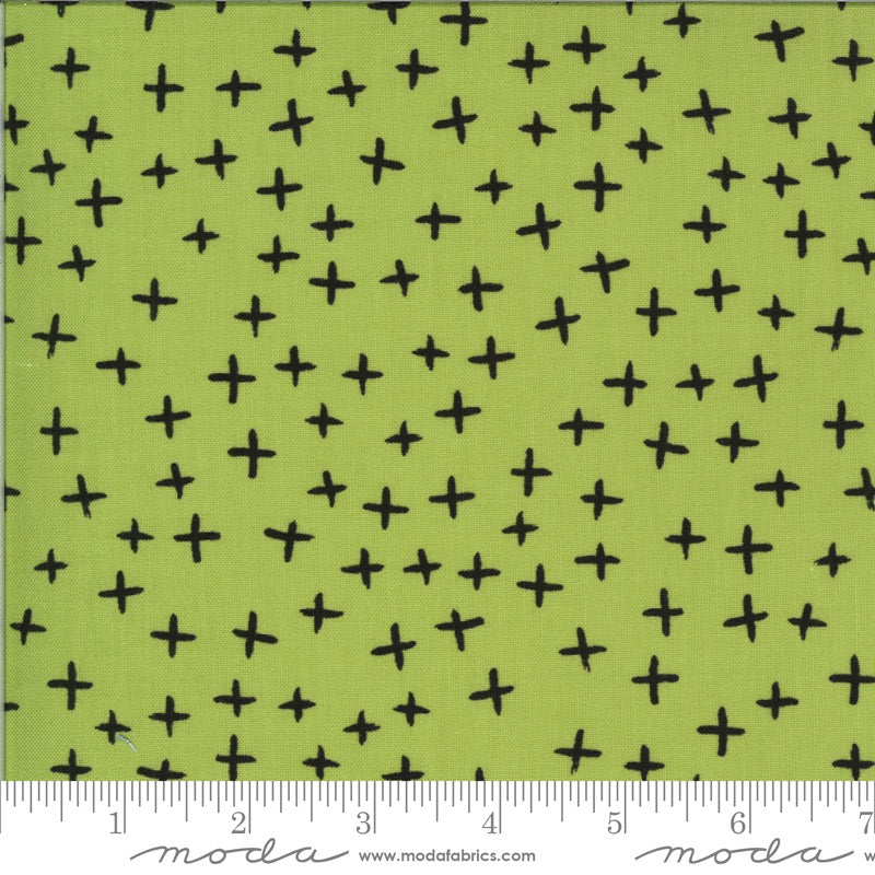 Zen Chic - Quotation - Crosses Pistachio