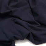 Ray Stitch Micromodal Single Jersey - Dark Navy