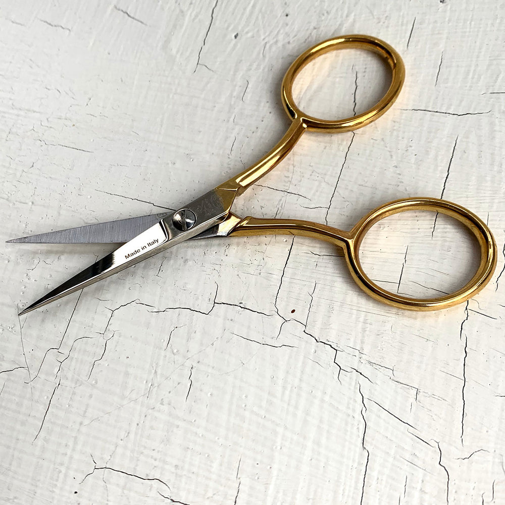 Gold Plate Embroidery Scissors 11cm