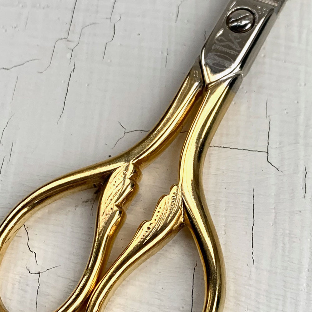 Gold Sewing Scissors 15cm