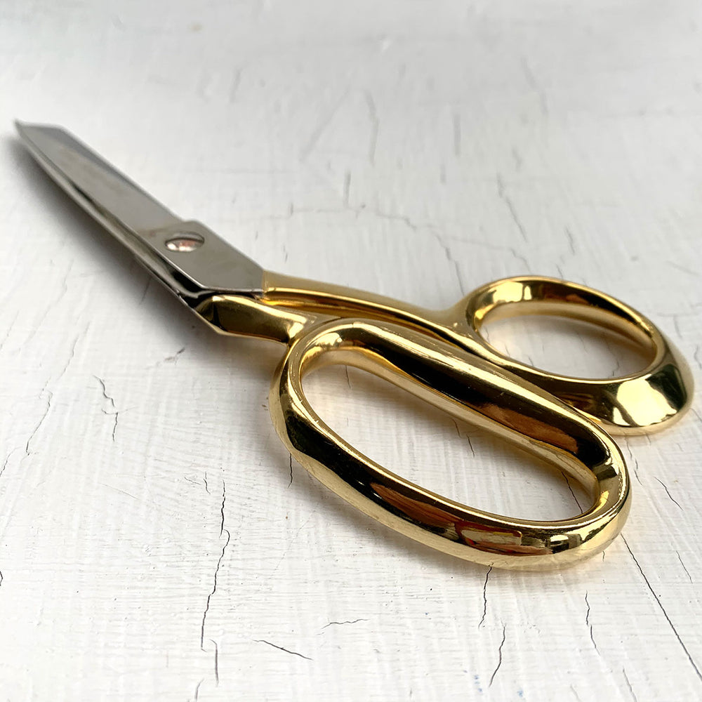 Ever Sharp Gold Plate Tailors' Shears 20cm