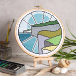 Cross Stitch Kit - Cliff Top Walk