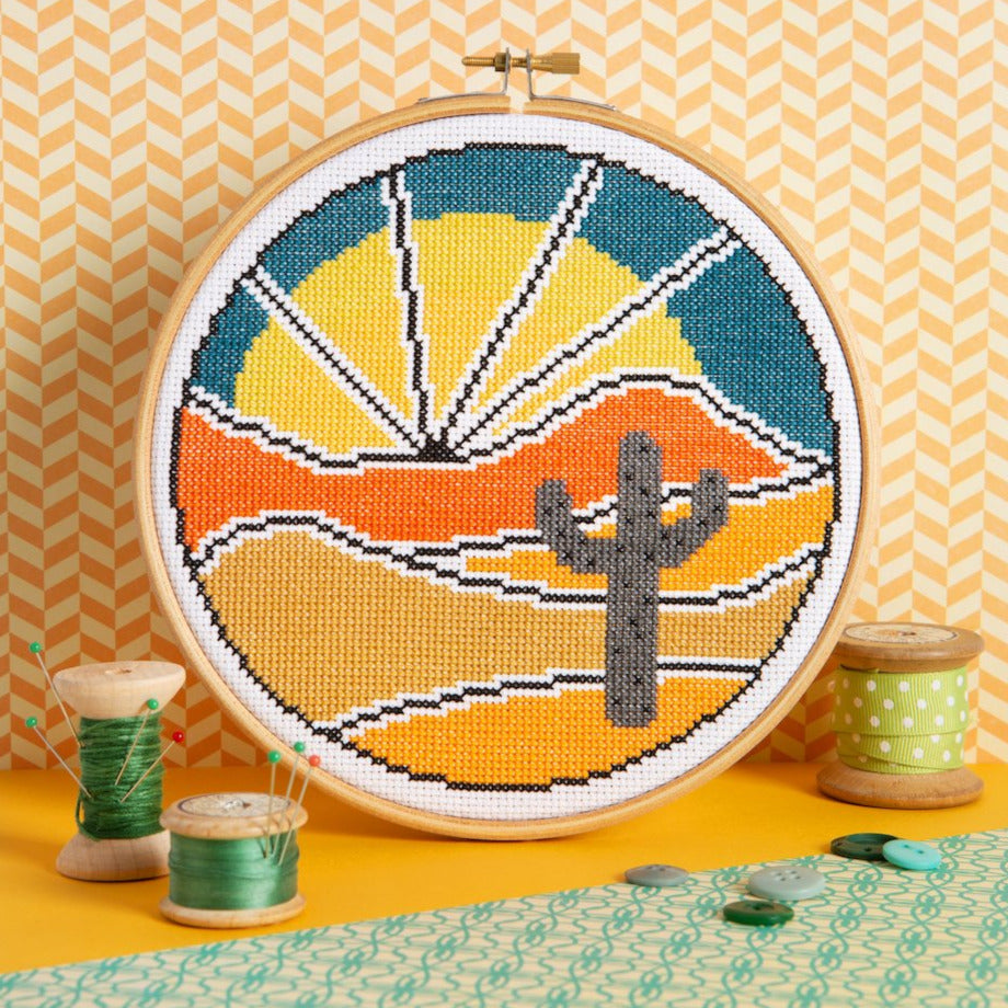 Cross Stitch Kit - Desert Escape