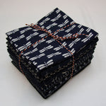 Sevenberry Indigo - Fat Quarter Bundle of 10