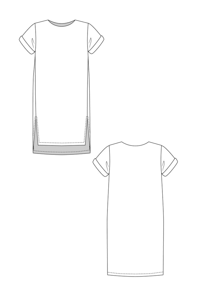 Named Clothing - Inari Cropped T-Shirt & Slim Dress