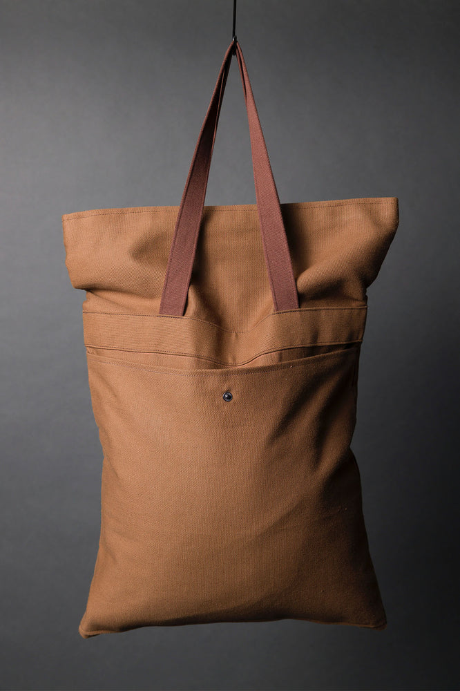 Organic Cotton Canvas - Muscovado