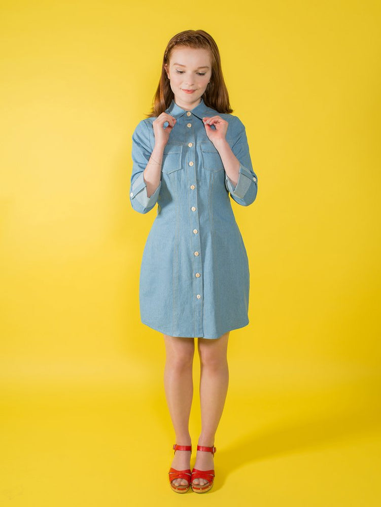 Tilly And The Buttons - Rosa Shirt or Shirt Dress