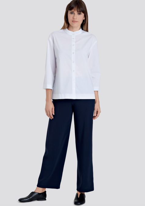Simplicity S9112 Misses' Button Down Top, Shell & Pants