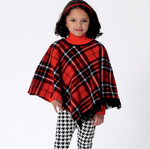 Butterick Children 6373 - Girl's Cape & Poncho