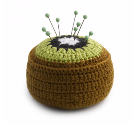 Pin Cushion/Fixing Weight - Kiwi