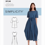Simplicity 9140 - Relaxed Dress