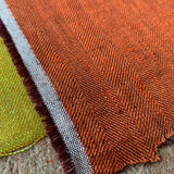 Ray Stitch Herringbone Linen - Snape