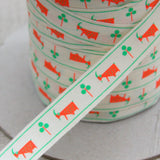 Yeon Lee's Zoo Goat Ribbon - By The Metre