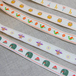 Yeon Lee's Zoo Elephant Ribbon - By The Metre