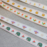 Yeon Lee's Zoo Dove Ribbon - By The Metre