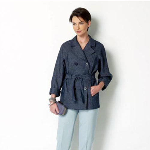 Butterick 6331 - Lisette Double-Breasted Jacket & Tapered Pants