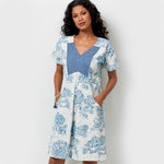 Butterick 6567 - Lisette Fitted V-Neck Dress with Pockets
